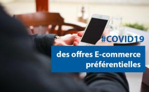 #COVID19 : des offres E-commerce préférentielles pour poursuivre une activité