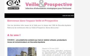"""La newsletter """"Veille et prospective"""" pour l'#artisanat est sortie ! [#2 - Mars 2020)"""