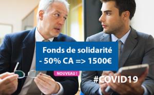 COVID19 : le fonds de solidarité activé dès 50% de CA en moins et dès le mois de mars