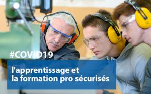 #COVID19 : l'apprentissage et la formation professionnelle sécurisés par une ordonnance