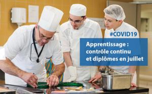 #COVID19 : quelle organisation pour les diplômes en apprentissage ?