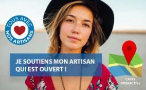 #COVID19 : je soutiens mon artisan qui est ouvert !