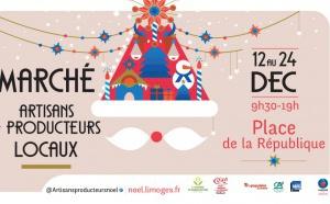 Le Marché de Noël de Limoges