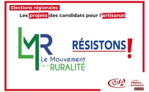 Le Mouvement de la Ruralité: les projets des candidats pour l'artisanat en Nouvelle-Aquitaine