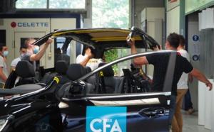 Le CFA des Métiers de la CMA Dordogne aux côtés des soldats du feu