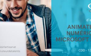 ANIMATEUR NUMERIQUE / Microsoft 365 - h/f – CDD 12 MOIS - Poste basé à Bordeaux, La Rochelle, Poitiers, Limoges