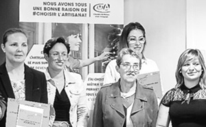 Les lauréates du Trophée Madame Artisanat récompensées à Agen (47)