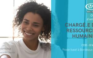 CHARGÉ.E DE RESSOURCES HUMAINES CDD 8 MOIS (CMA NA 33)