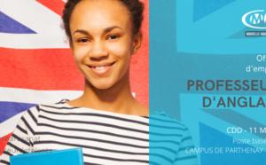 PROFESSEUR D'ANGLAIS H/F A MI-TEMPS CDD 11 MOIS POSTE BASE AU CAMPUS DE PARTHENAY