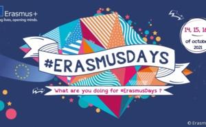 Lancement de la  5e édition des #ErasmusDays