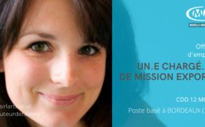 CHARGE.E DE MISSION EXPORT - CDD 12 MOIS - POSTE BASE A BORDEAUX