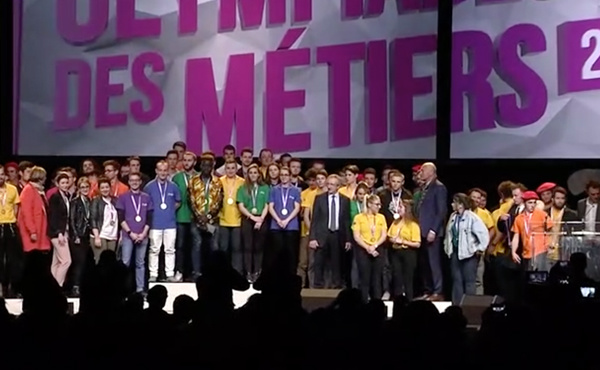 Revivez la finale régionale des Olympiades des métiers 2018 !