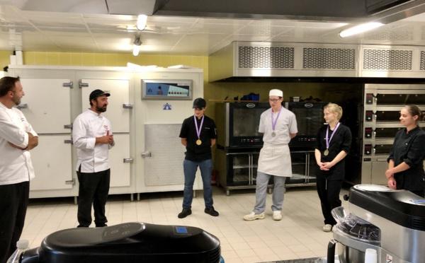 Olympiades des métiers : les pâtissiers en compétition