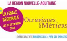 Finale régionale des Olympiades des métiers à Bordeaux, réservez vos 23 et 24 mars !