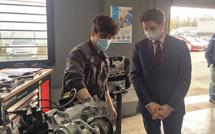 Mobilité et Apprentissage : un Secrétaire d'Etat en visite à l'Université des métiers de Pau