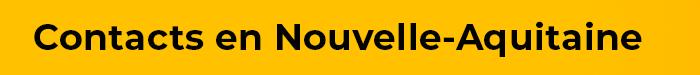 Les contacts Taxis et Vtc de Nouvelle-Aquitaine